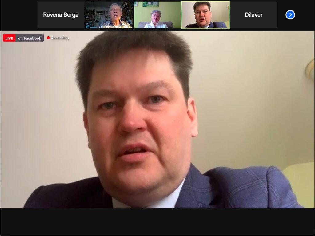 """Rīgas Konferences lekciju sēriju turpina Airis Rikveilis ar lekciju """"ES stratēģiskais kompass: vai tas nodrošinās stratēģisko autonomiju?"""""""