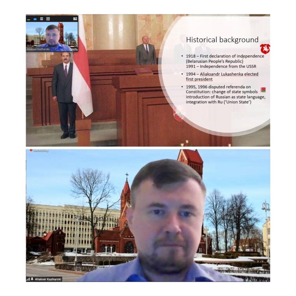 """Rīgas Konferenceslekciju sēriju uzsāk Dr. Aleksejs Kažarskis ar """"Lekciju parBaltkrieviju"""""""