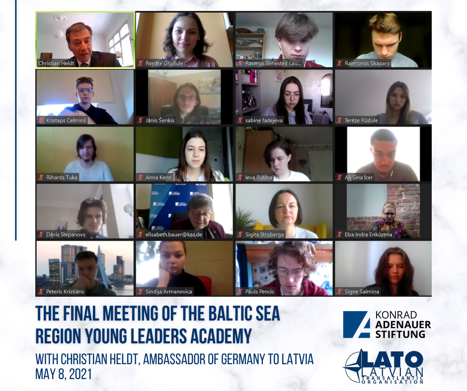 The Baltic Sea Region Young Leaders Academy Has Concluded